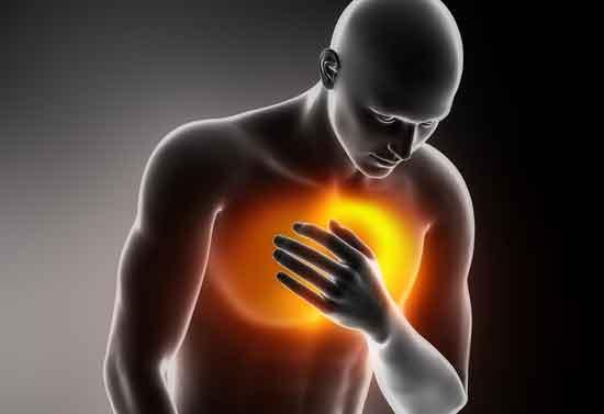 Brustschmerzen auf der rechten Seite