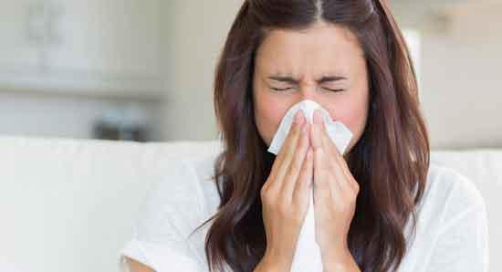 Entlastet den Sinusdruck und die Nasenverstopfung.