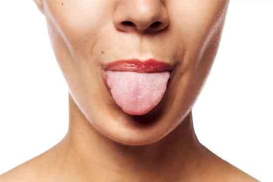Herpes auf der Zunge Symptom, Ursache, Behandlung