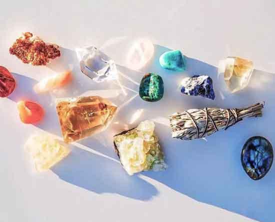 wie man einen Kristall auswählt und verwendet