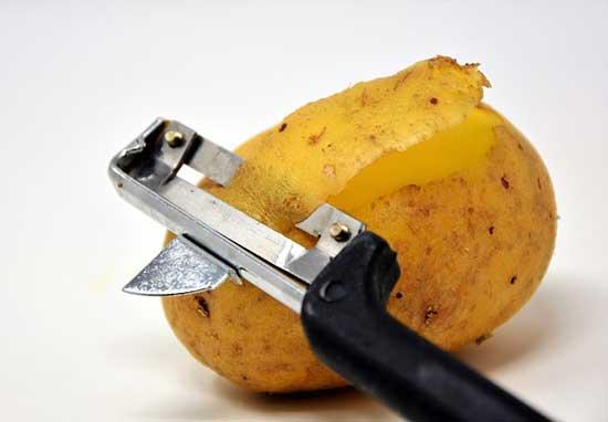 rohe Kartoffel Essen, gesund oder ungesund