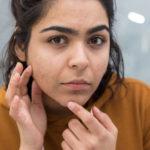 Dreieck der Todesgesundheitsgefahren im Gesicht