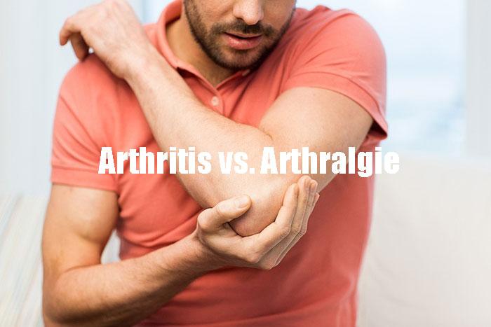 Arthritis vs. Arthralgie Worin besteht der Unterschied