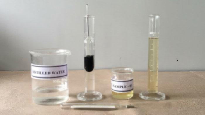 Test des spezifischen Gewichts des Urins