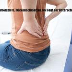 sind es Nierenschmerzen oder Rückenschmerzen? Wie kann man den Unterschied erkennen?