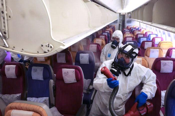 Wie lässt sich die Ansteckung mit dem Coronavirus im Flugzeug vermeiden Experte sagte dies