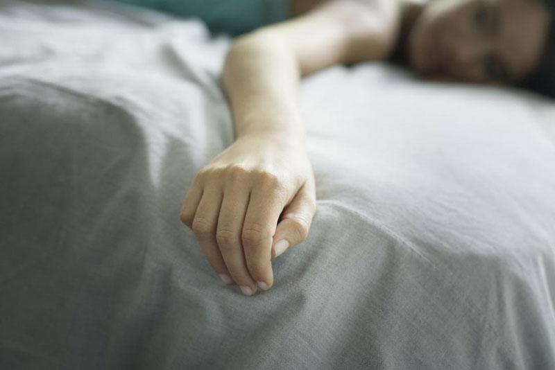 Taubheit in den Händen beim Schlafen